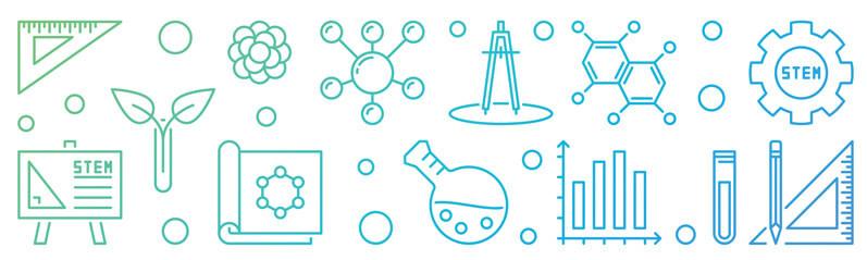 Icons STEM