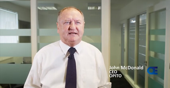 John McDonald speaks about OPITO's first Offshore Europe exhibition